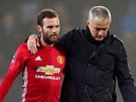 Juan Mata is pivotal to Manchester United success