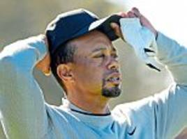 tiger woods is drawing closer and closer to retirement