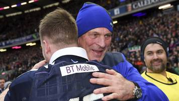 Six Nations 2017: Vern Cotter hails Scotland's second-half show against Wales