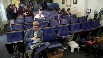 White House briefing bar: Media groups condemn exclusion