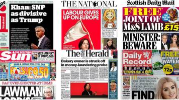 Scotland's papers: Labour conference and 'ancient' 999 fleet