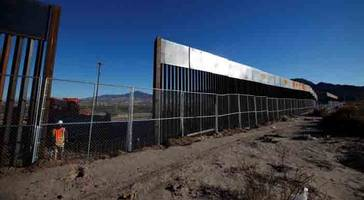 trump administration unveils first step in building border wall