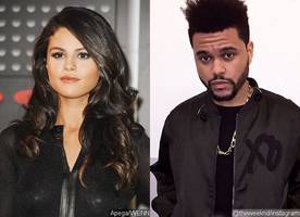 selena gomez jets off to amsterdam to support the weeknd on his tour