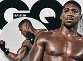 anthony joshua says he will knock wladimir klitschko out