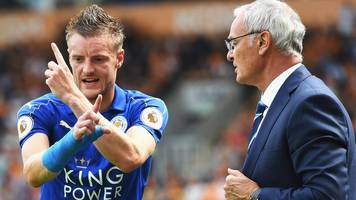 vardy 'extremely hurt' by ranieri sacking stories