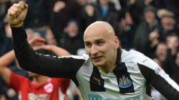 newcastle come from 2-0 down to hold bristol city