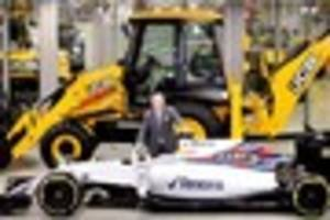 Digger firm JCB enters world of Formula One with Williams