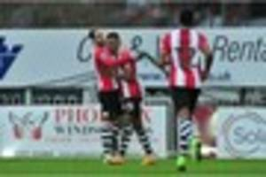 Exeter City 2 Blackpool 2: Player ratings and man of the match...