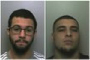 Two men jailed for 15 years after terrifying armed raid at...