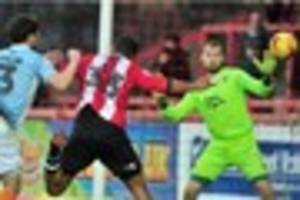 Exeter City 2 Blackpool 2: Match report - Reuben Reid rescues...