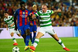 Celtic skipper Scott Brown: I know how our rivals feel ... I booted Barcelona off the park in the Camp Nou