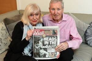 'it's time for us to talk about this' family of celtic legend billy mcneill support sunday mail's fight for dementia sufferers