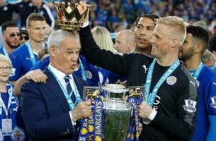 Leicester City players flooded social media to show their love for Claudio Ranieri