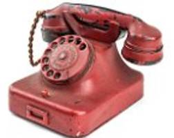 hitler's wartime telephone 'is a fake'