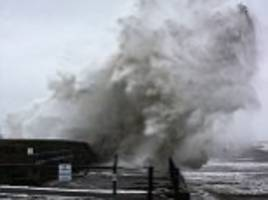 storm ewan to batter uk with 70mph winds, rain and snow