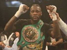 Deontay Wilder beats Gerald Washington with knockout