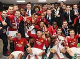 Man United equal Liverpool's record of 41 major trophies