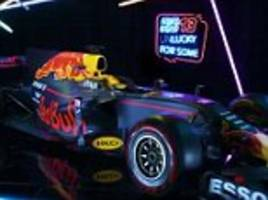 red bull unveil 2017 f1 car with epic video