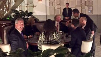Nigel Farage 'has dinner with Donald Trump'