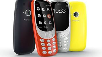 nokia 3310 mobile phone resurrected at mwc 2017