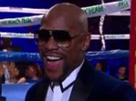Floyd Mayweather sends message to Conor McGregor