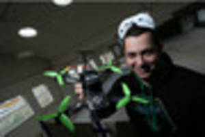 country's first drone racing arena to open in nottingham