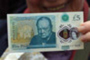 the new £5 notes are being forged - how to spot if your...