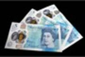 copies of new fiver found in south west