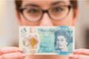 What a fake £5 note looks like amid Bank of England forgery...