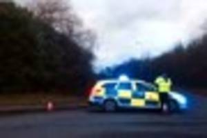 a12 chelmsford closed after 'woman falls from bridge'