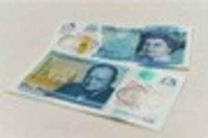 warning as first known batch of fake fivers enters circulation -...
