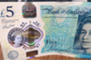 WATCH: New £5 note is here to stay despite protests over...