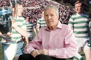 celtic legend billy mcneill is a colossus of the scottish game - take a look back at his career in pictures