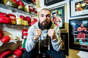 'he's acting like an idiot' mum of tragic boxer mike towell blasts david haye after vow to put rival in hospital