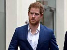Prince Harry visits mental health charity in London