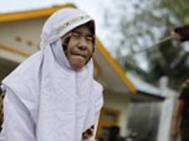 Couple caned in Indonesia for violating Sharia law