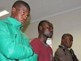 men in court accused of murder of british woman in sa