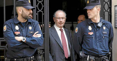former imf chief sent to jail as spain prosecutes 65 elite bankers in enormous corruption scandal