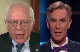 bernie sanders and bill nye to talk climate change on facebook live today