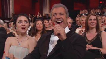 'Mask the Anger': Twitter Had Plenty to Say About Mel Gibson's Appearance at the Oscars