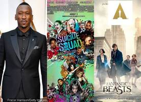 oscars 2017: mahershala ali, 'suicide squad' and 'fantastic beasts' are first winners