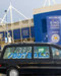 Hearse visits King Power Stadium ahead of Leicester v Liverpool to mourn death of football