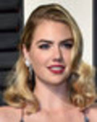 kate upton's boobs deserve an oscar: blonde beauty flaunts jaw-dropping cleavage