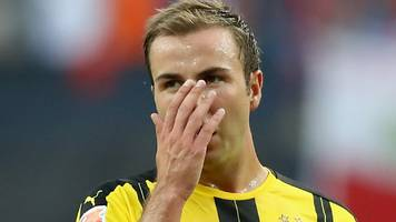 world cup winner gotze out with 'metabolic disturbances'