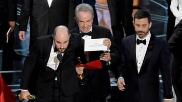 not fake news: 'moonlight' won best picture at the oscars