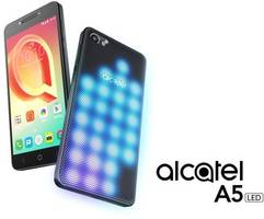 alcatel launches a5 led, the world's first interactive led-covered smartphone