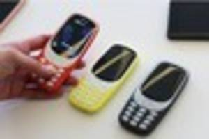 the nokia 3310 is back - and here's what the new version looks...