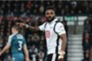 will darren bent and cyrus christie be fit for derby county's...