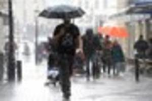 bristol set for cold and wet weather this week with the chance of...