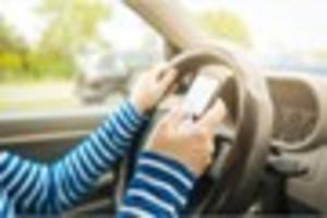 the law on driving with a mobile phone changes this week